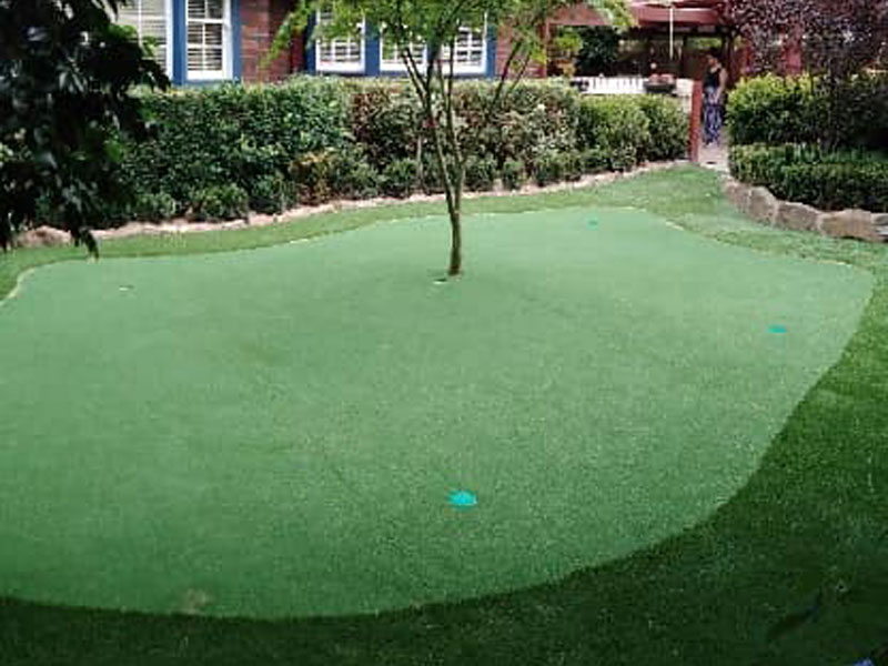 putting greens at home